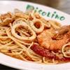 ピソリーノ - 料理写真:ペスカトーレ(魚介とトマトのスパゲティ)