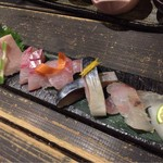 63898890 - 直送鮮魚のお造り盛り合わせ