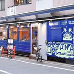 Cafe Habana TOKYO - 外観。トラック的な。