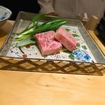 肉屋 雪月花 NAGOYA - 最上牛サーロインすき焼き!!!これから焼きます!