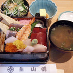 鮨 山清 - 料理写真:鮨 山清 @中葛西 ランチ 海鮮丼 950円