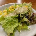 くれ星製麺屋 - 無料の「新鮮サラダ」