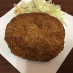 肉のたかさご - ロイヤルメンチ(350円)