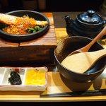 だよね。 - 鮭といくらの海鮮茶漬け 980円