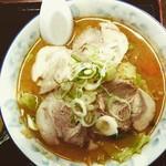 蕎麦処 伊右ェ門 - 料理写真:みそチャーシューメン850円