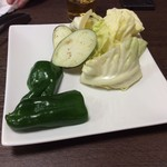 焼肉 一八 - 野菜も食べなさいね