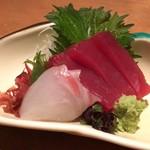 江戸前肉割烹 宮下 - 鮮魚二点盛り