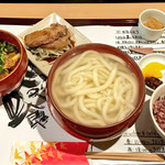 麺喰 - 豚肉と白菜のつけ麺セット