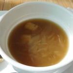 ガーリックハウス - オニオンスープ