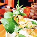 アジアン食堂 ジョージのレシピ - ご飯とパクチー!!