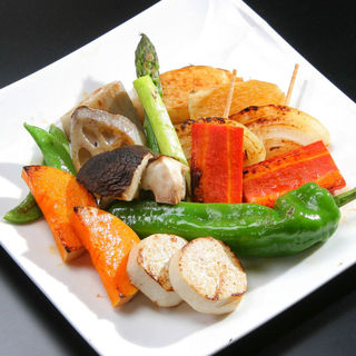 まずは野菜から食べて下さい