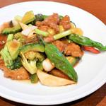 63930586 - 牛肉の黒胡椒炒め