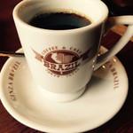 銀座ブラジル - ブレンドコーヒー  350円