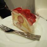 63935009 - 苺畑のショートケーキ 680円