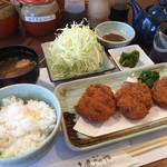 岐阜とんかつや - 料理写真:ランチのひれカツ定食799円税込