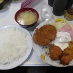 キッチン マミー - メンチセット¥750-