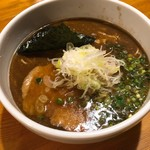 らぁめん 喜乃壺 - 鶏油 醤油 炭焼きチャーシュー