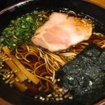 らぁめん 喜乃壺 - 鶏支那蕎麦 醤油 炭焼きチャーシュー