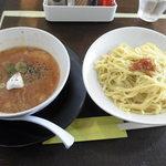 麺や 五山 - 特製トマトつけ麺