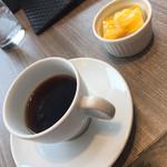 焼肉の名門 天壇 - 一口デザートとコーヒー(^∇^)