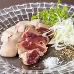 美桜鶏レバーの湯引き