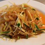中華料理 大創苑 - クラゲ和え