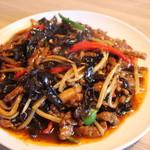中華料理 大創苑 - 豚肉の四川風炒め