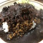 キッチン南海 - 【2017.3.6】ドス黒いカレー。