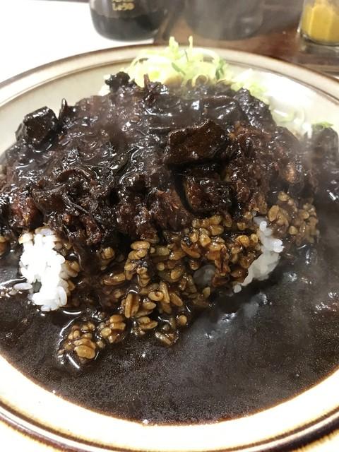 キッチン南海 向ケ丘遊園店 - 【2017.3.6】ドス黒いカレー。