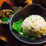 大阪串かつ てん家わん屋 - ポテトサラダ&青唐辛子みそ(各300円)