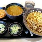 ゆで太郎 - 料理写真:朝食・カレー丼360円!