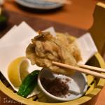 63948353 - 「佐渡近海 新物 真牡蠣」「牡蠣の天ぷら」