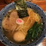 くじら軒 - 【らーめん味玉入 薄口醤油味…850円】♫2017/3