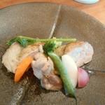 メゾン ド クロ - 鶏モモのハーブ焼き 季節野菜添え