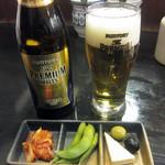 喝 - ビール