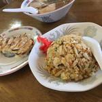 中華そば大福軒 - 餃子¥300円\( ˆ.oˆ )/焼飯¥550円