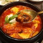 韓国料理 bibim' - 山芋スンドゥブ☆1093円 オススメです!