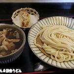 製麺練場 風布うどん - 肉汁うどん+ちくわ天