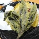 きときと 赤坂本店 - 加賀野菜の天ぷら盛合せ