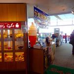 舞子 トムズ カフェ - 店舗入口付近。