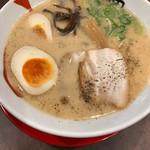 三豊麺 - 白味玉とんこつ