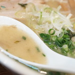 らーめん華麒麟 - スープ