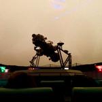 """焼肉 やまと - 日本で一番古い投影機のあるプラネタリウムで""""宇宙""""を感じる(半分寝てたが)。"""