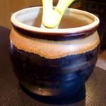 焼肉 やまと - 「壺漬けカルビ&ホルモンミックス」(1000円)。