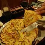 oro - リンゴとゴルゴンゾーラチーズのピッツア☆