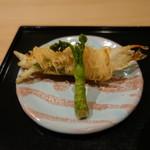 Ifuki - 白魚カダイフ揚げ