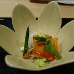 Ifuki - 赤貝炙り