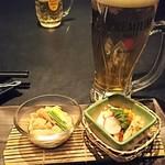 名古屋コーチン専門居酒屋 鳥銀邸 はなれ - お通し