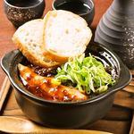 牛すじと新生姜の土鍋煮込