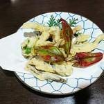 勇魚 - 小鰯の天ぷら